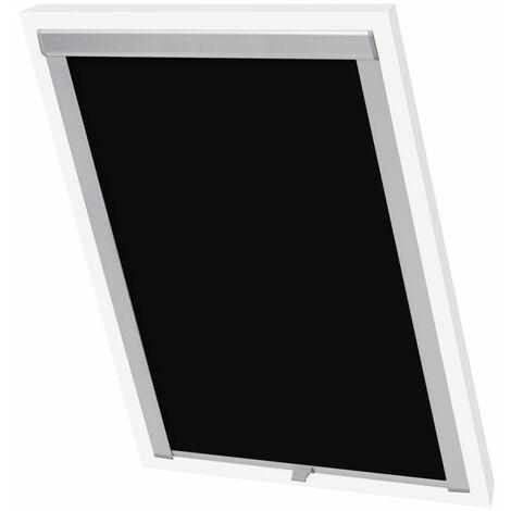 Hommoo Blackout Roller Blinds Black P06/406 QAH00798