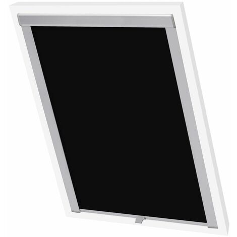 Hommoo Blackout Roller Blinds Black S06/606 QAH00800