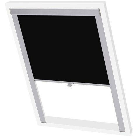Hommoo Blackout Roller Blinds Black U08/808 VD00802