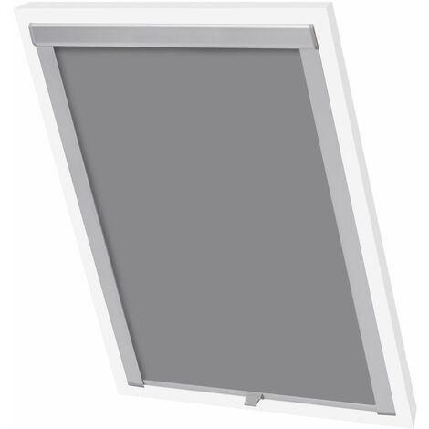 Hommoo Blackout Roller Blinds Grey M06/306 QAH00768