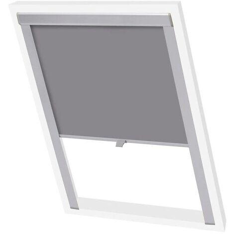 Hommoo Blackout Roller Blinds Grey M08/308 VD00769