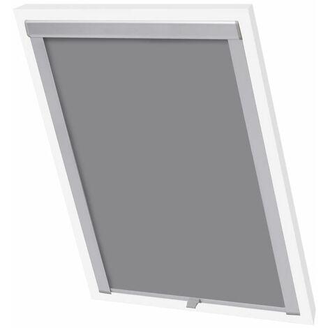 Hommoo Blackout Roller Blinds Grey P08/408 QAH00771