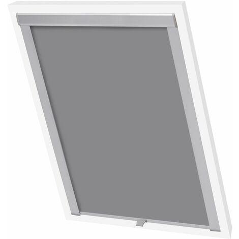 Hommoo Blackout Roller Blinds Grey U08/808 QAH00774