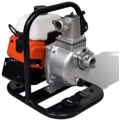 Hommoo Bomba de agua a gasolina 2 tiempos 1,45 kW 0,95 L