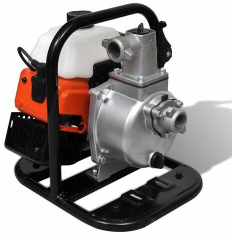 Hommoo Bomba de agua a gasolina 2 tiempos 1,45 kW 0,95 L HAXD04090