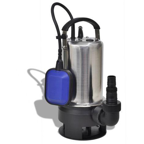 Hommoo Bomba sumergible de agua sucia 1100 W 16500 L/h