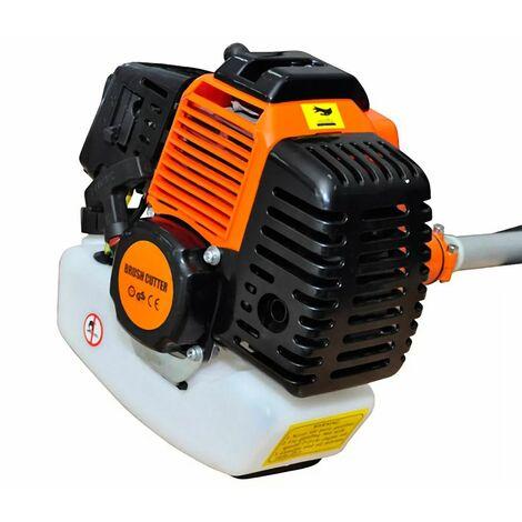 Hommoo Brush Cutter Grass Trimmer 51.7 cc Orange 2.2 kW QAH03778