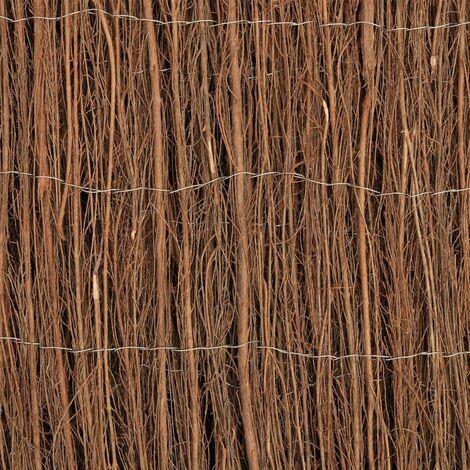 Hommoo Brushwood Fence 400x170 cm QAH30306