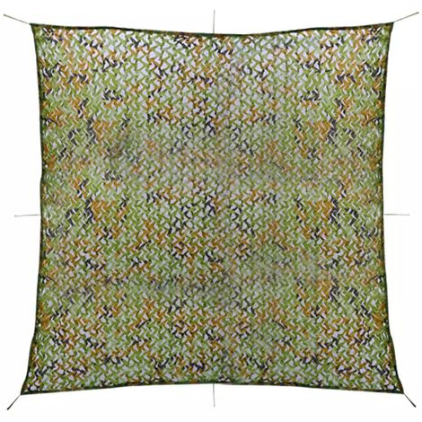 Hommoo Camouflage Netting with Storage Bag 4x4 m