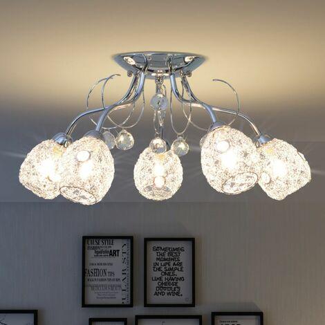 Hommoo Ceiling Lamp for 5 G9 Bulbs 200 W QAH30411