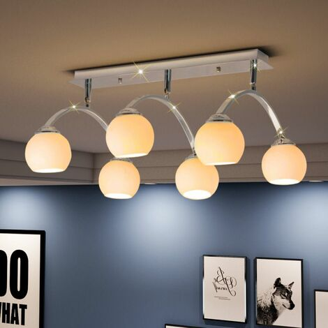 Hommoo Ceiling Lamp with 6 LED Bulbs G9 240 W QAH30402