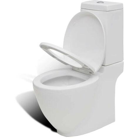 Hommoo Ceramic Toilet White VD08174