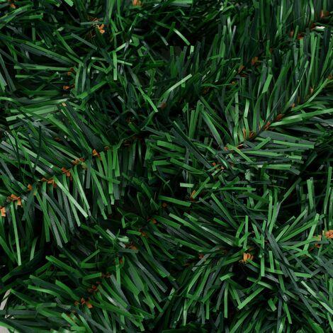 Hommoo Christmas Garlands 4 pcs with Baubles Green 270 cm PVC QAH24849