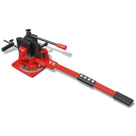 Hommoo Cintreuse manuelle universelle de tuyaux en acier
