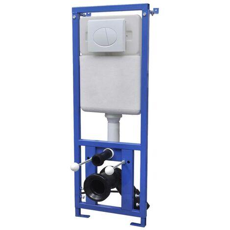 Hommoo Cisterna alta oculta 11 L 41x14x (110-125) cm