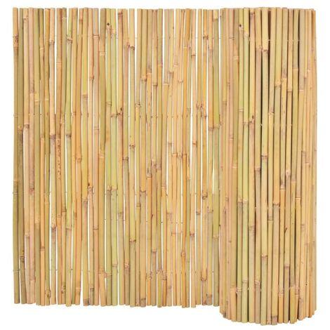 Hommoo Clôture Bambou 300 x 100 cm HDV04753