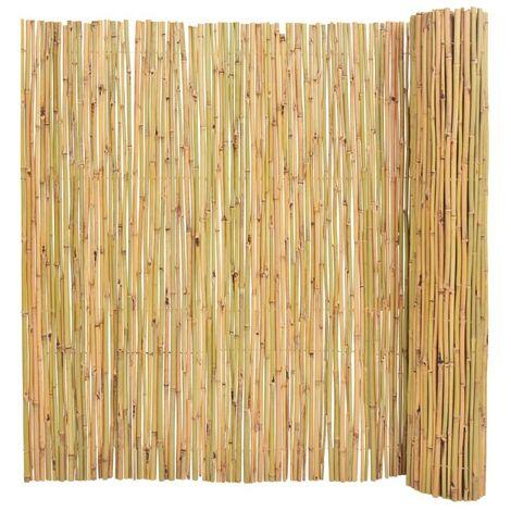 Hommoo Clôture Bambou 300 x 150 cm HDV04754