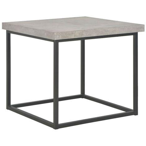 Hommoo Coffee Table 55x55x53 cm Concrete Look