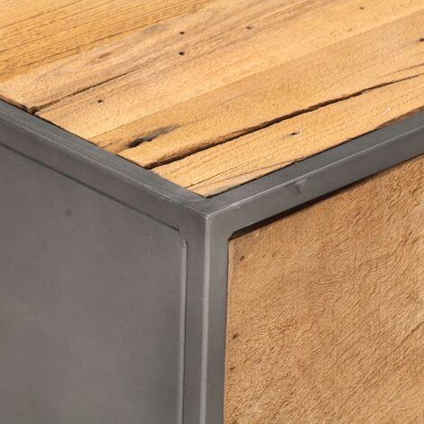 Hommoo Coffee Table 90x50x35 cm Solid Reclaimed Wood QAH36841