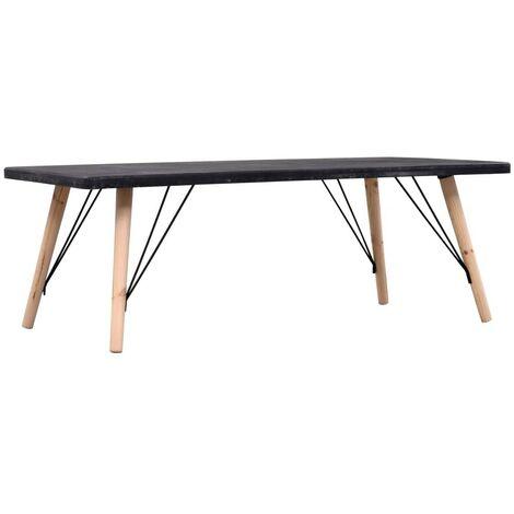 Hommoo Coffee Table Concrete Finish 112x60x41 cm MDF