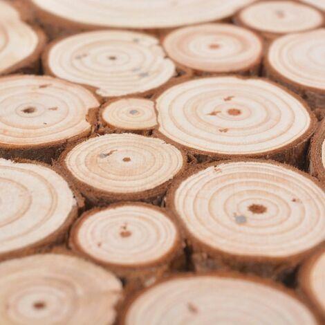 Hommoo Coffee Table Genuine Fir Wood 120.5x60.5x35 cm QAH10785