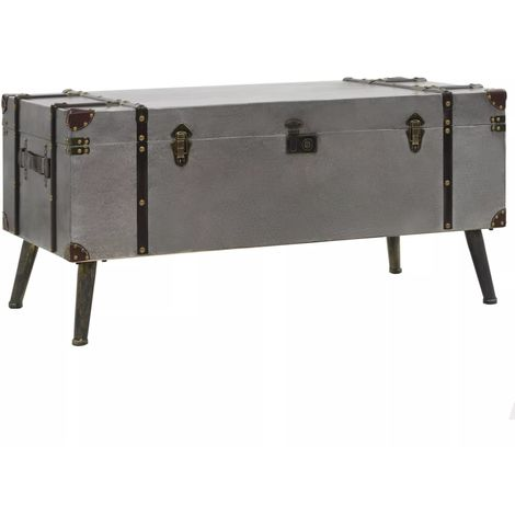 Hommoo Coffee Table MDF and Aluminium 102x51x47.5 cm