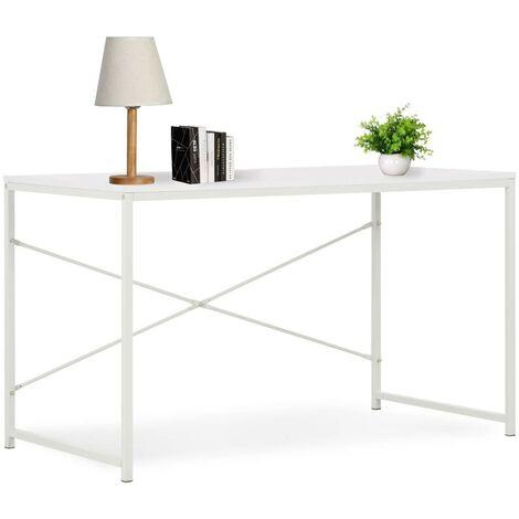 Hommoo Computer Desk White 120x60x70 cm