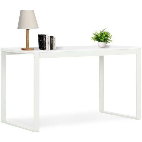 Hommoo Computer Desk White 120x60x73 cm