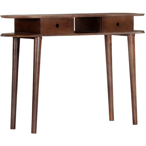 Hommoo Console Table 110x35x76 cm Solid Acacia Wood