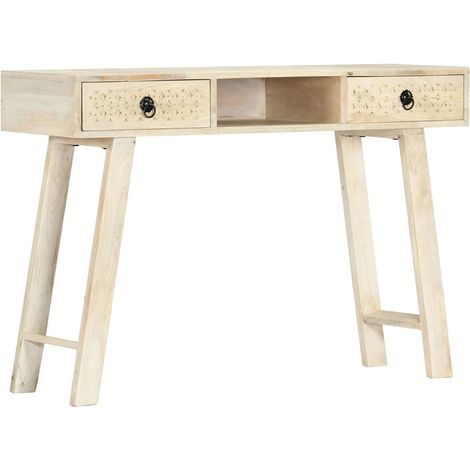Hommoo Console Table 110x35x76 cm Solid Mango Wood