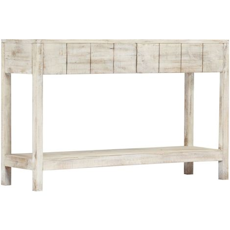 Hommoo Console Table 120x35x75 cm Solid Mango Wood