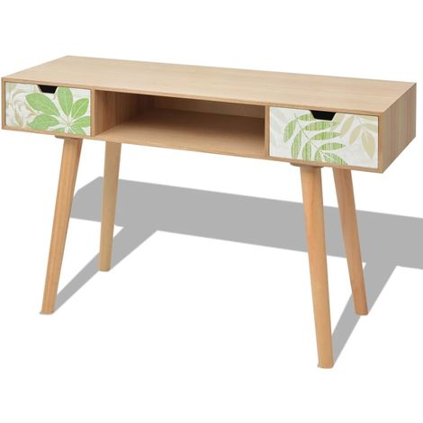 Hommoo Console Table MDF 120x40x78 cm Brown