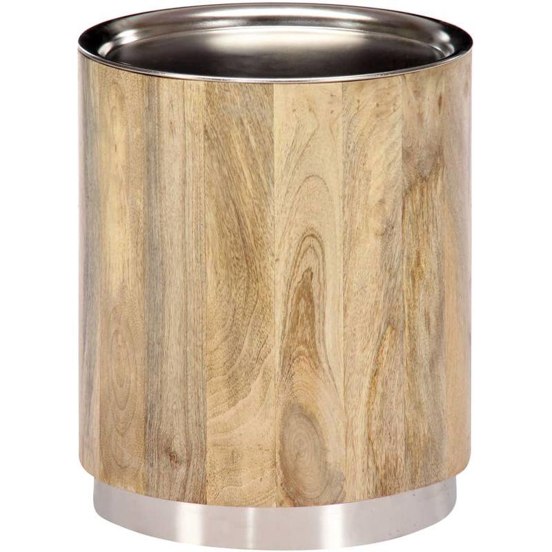 Couchtisch 38 x 45 cm Massivholz Mango VD13510 - Hommoo