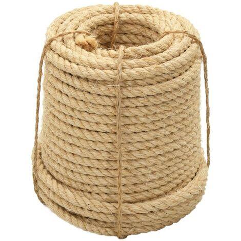 Hommoo Cuerda 100% sisal 20 mm 50 m