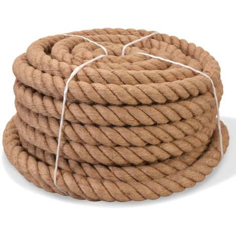 Hommoo Cuerda 100% yute 14 mm 100 m