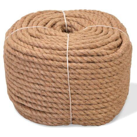 Hommoo Cuerda 100% yute 8 mm 500 m
