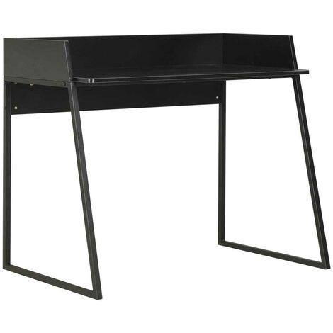 Hommoo Desk Black 90x60x88 cm