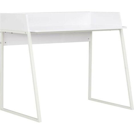 Hommoo Desk White 90x60x88 cm