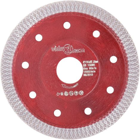 Hommoo Diamond Cutting Disc with Holes Steel 115 mm VD34831