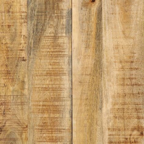 Hommoo Dining Table 140x70x75 cm Solid Mango Wood QAH13304