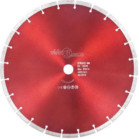 Hommoo Disco de corte de diamante acero 350 mm