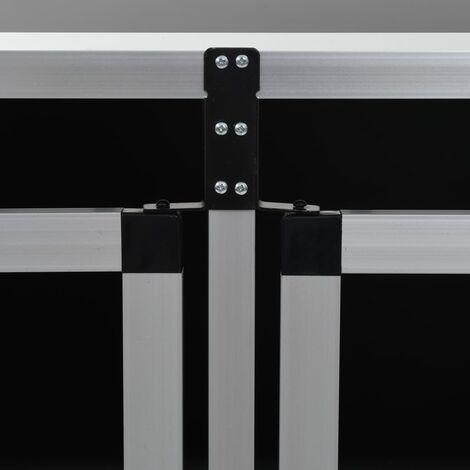 Hommoo Dog Cage with Double Door 94x88x69 cm QAH07221