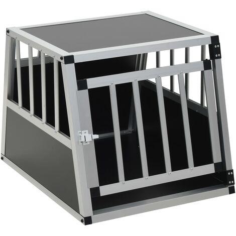 Hommoo Dog Cage with Single Door 54x69x50 cm QAH07222