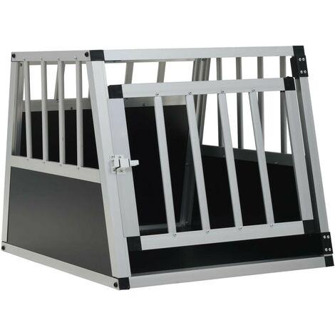Hommoo Dog Cage with Single Door 54x69x50 cm VD07222