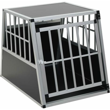 Hommoo Dog Cage with Single Door 65x91x69.5 cm QAH07220
