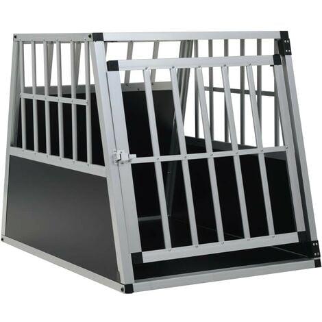 Hommoo Dog Cage with Single Door 65x91x69.5 cm VD07220