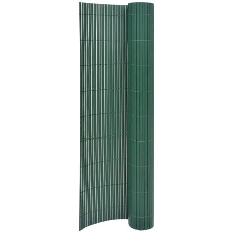 Hommoo Double-Sided Garden Fence 170x300 cm Green