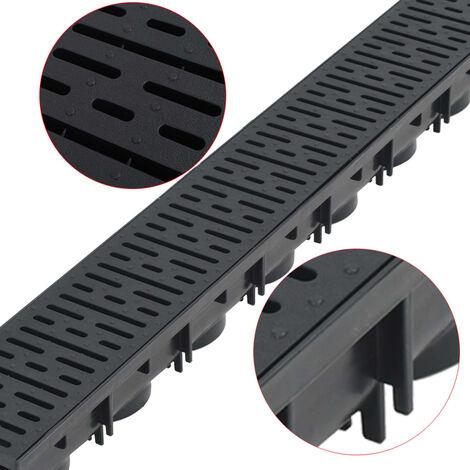 Hommoo Drainage Channels Plastic 3 m QAH18396