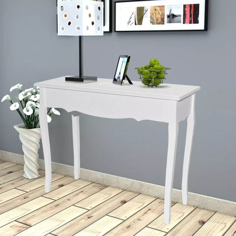 Hommoo Dressing Console Table White VD08567