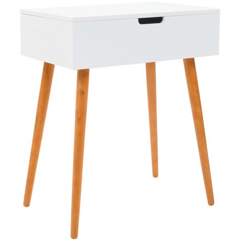 Hommoo Dressing Table with Mirror MDF 60x40x75 cm QAH11700